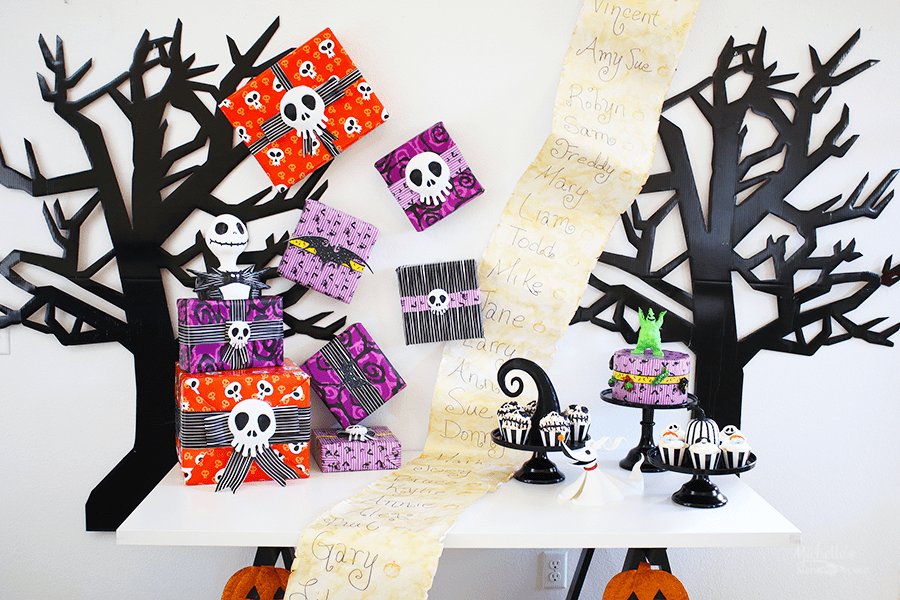 Nightmare Before Christmas Party Ideas 25th Anniversary Celebration
