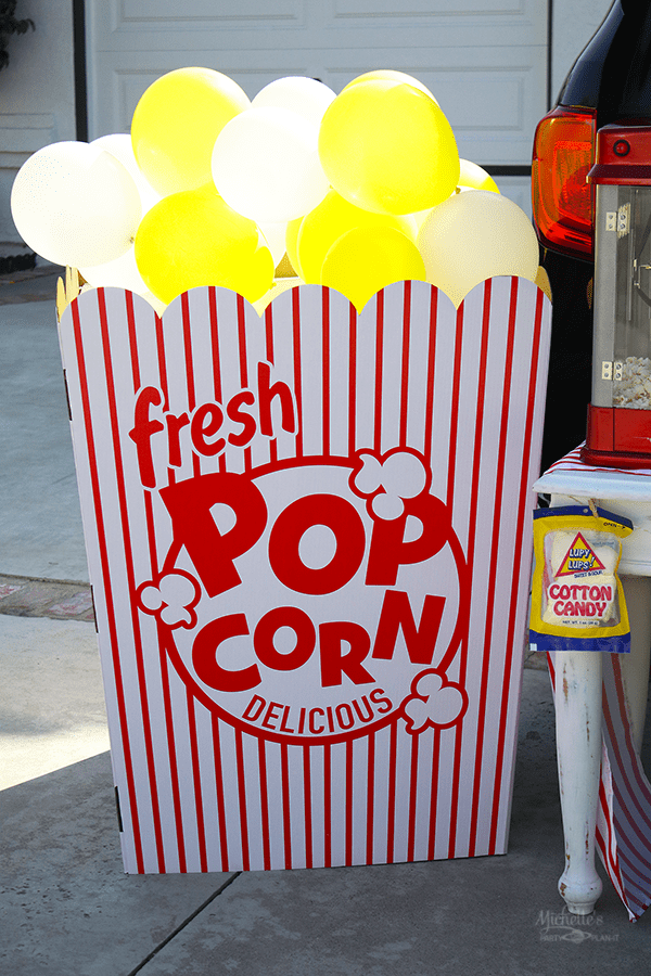 Popcorn Cardboard Standup