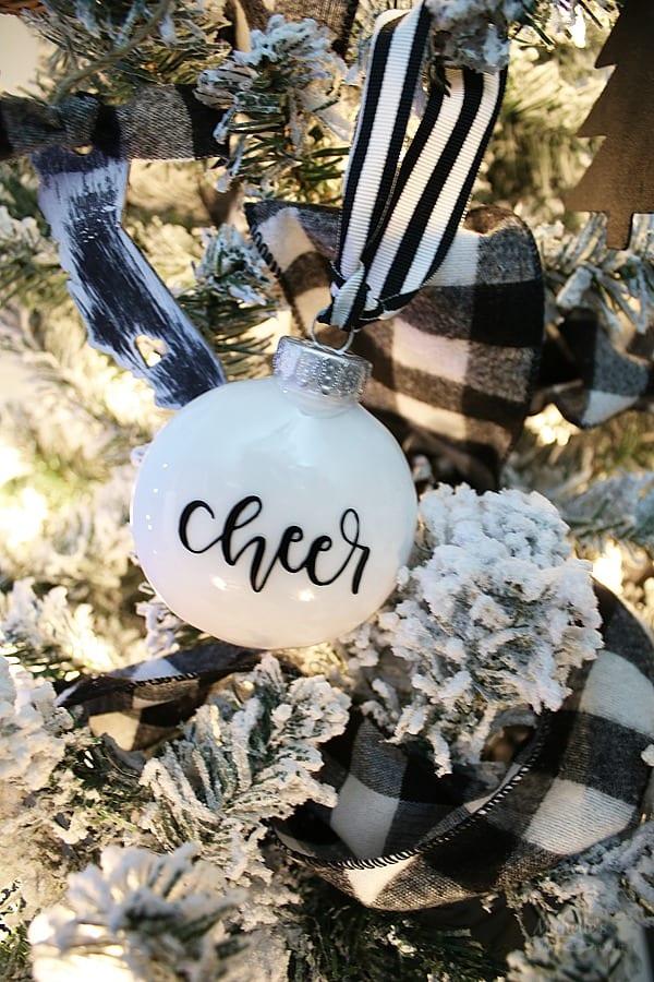 Farmhouse christmas tree decorations 6