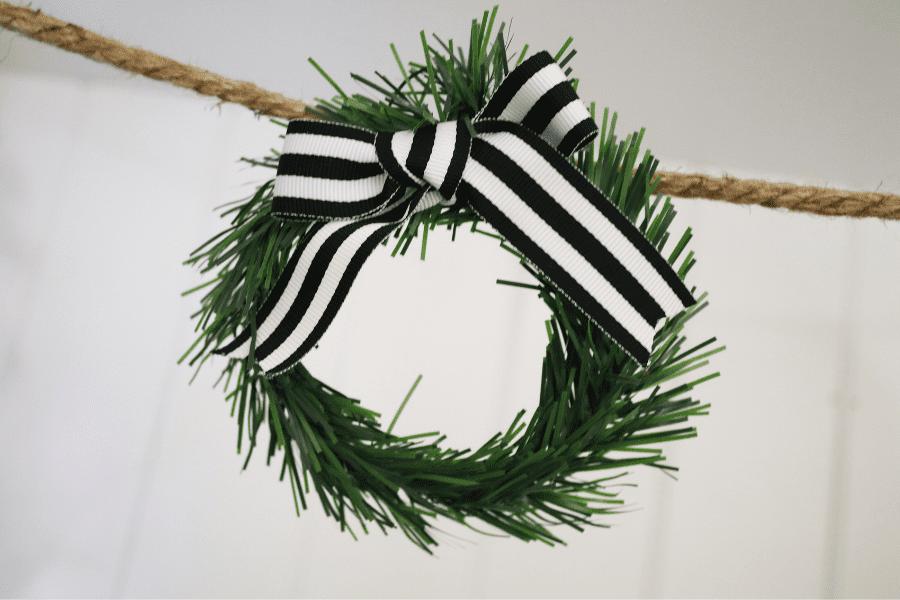 How to make a wreath garland dollar tree diy