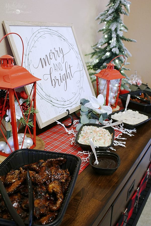 Applebees catering holiday party 2