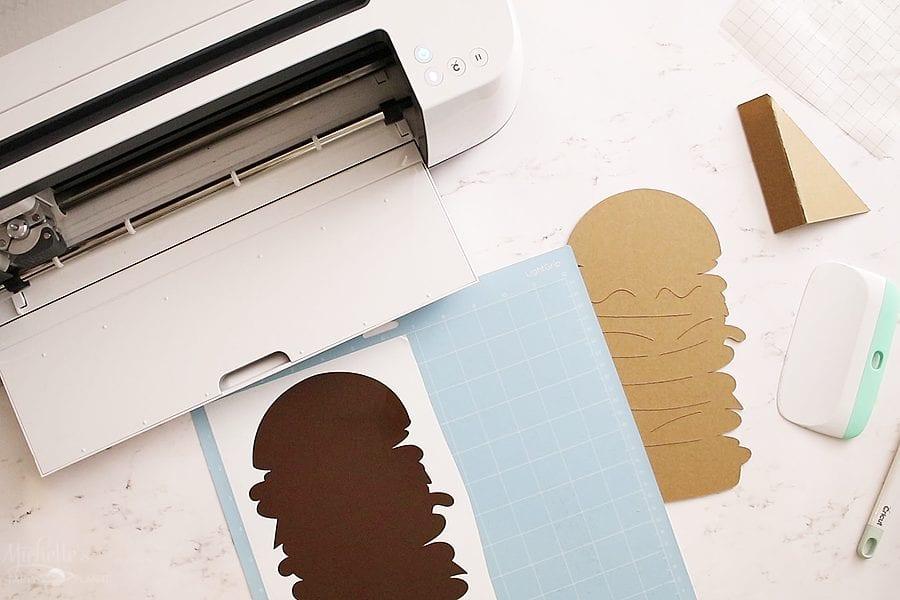 How to layer vinyl chipboard cricut maker
