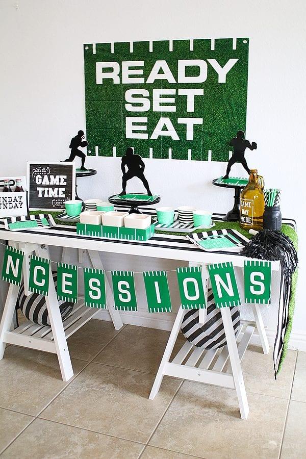 Sunday football party ideas 8