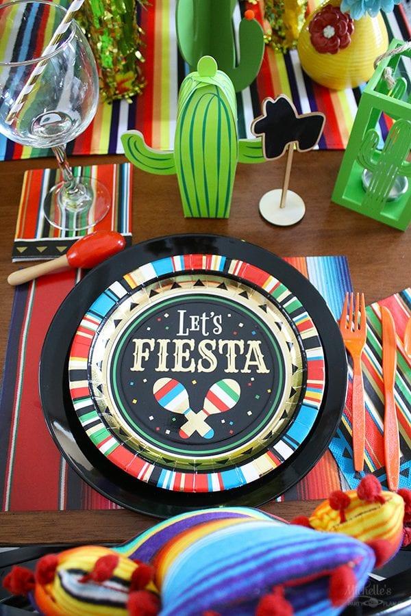 Lets fiesta baby shower