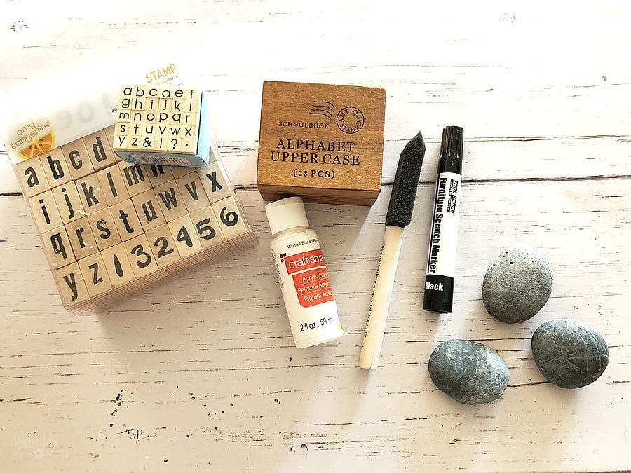 Diy painted rocks supplies