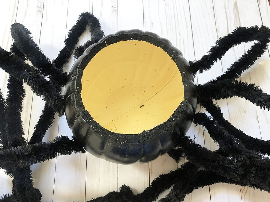Diy spider candy bowl 10