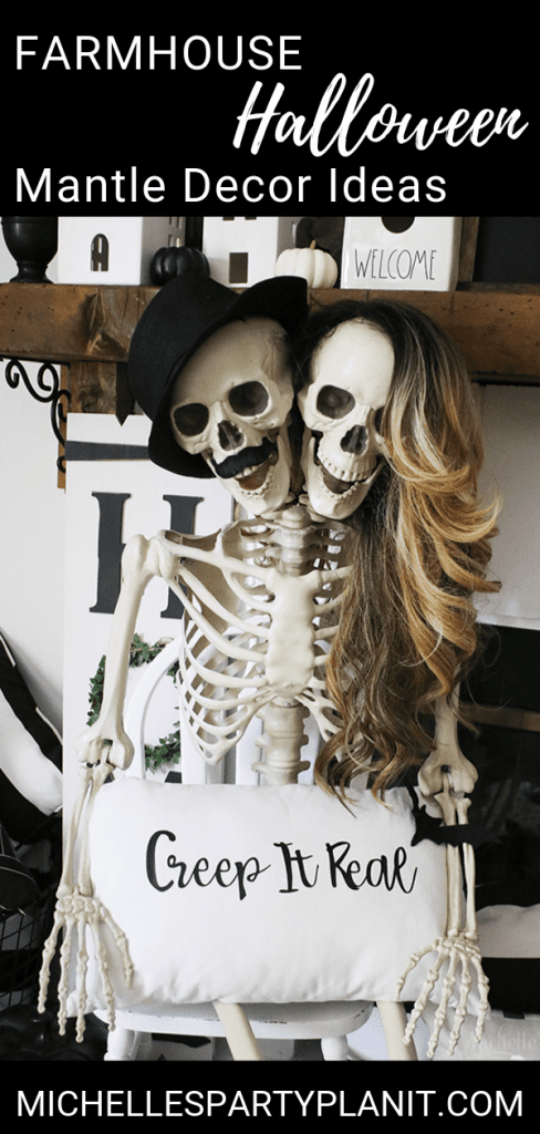 Easy halloween mantle decor ideas 1