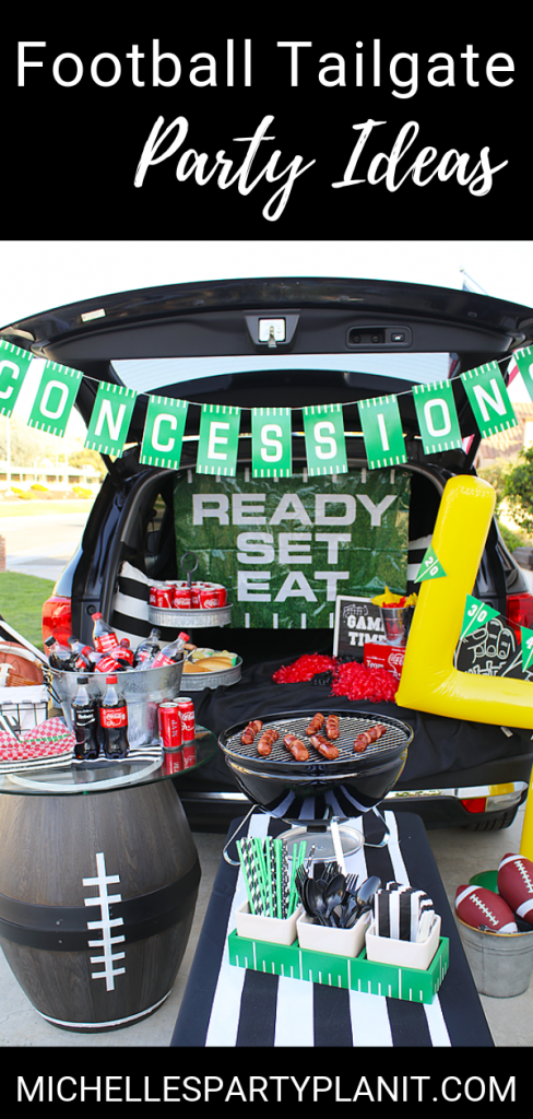 Football tailgate party ideas 1