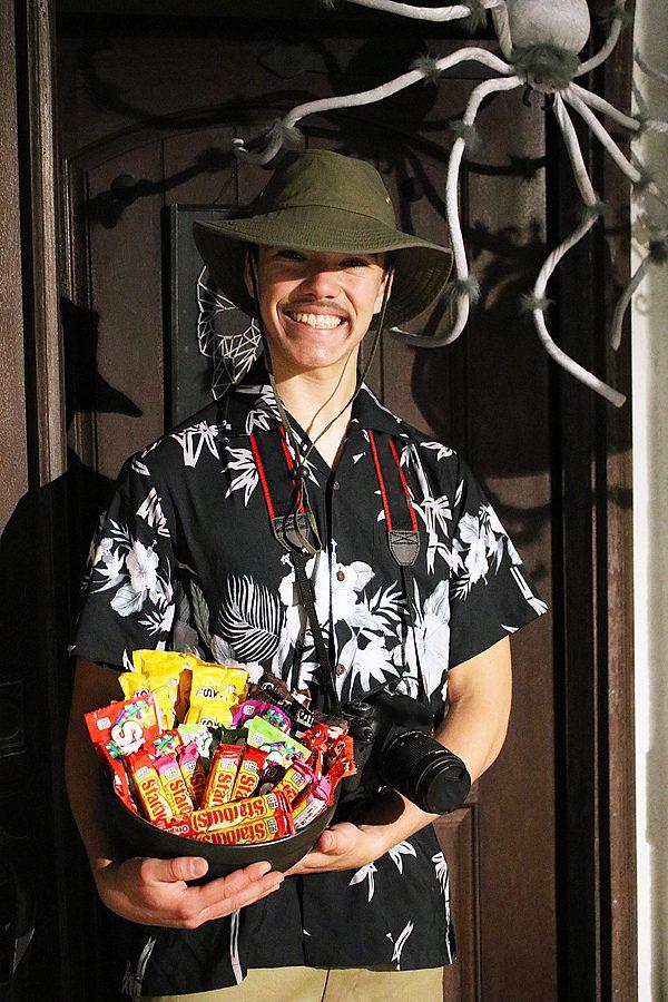 Last minute tourist costume 1