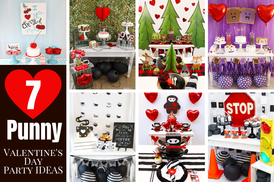 7 punny valentines day party ideas