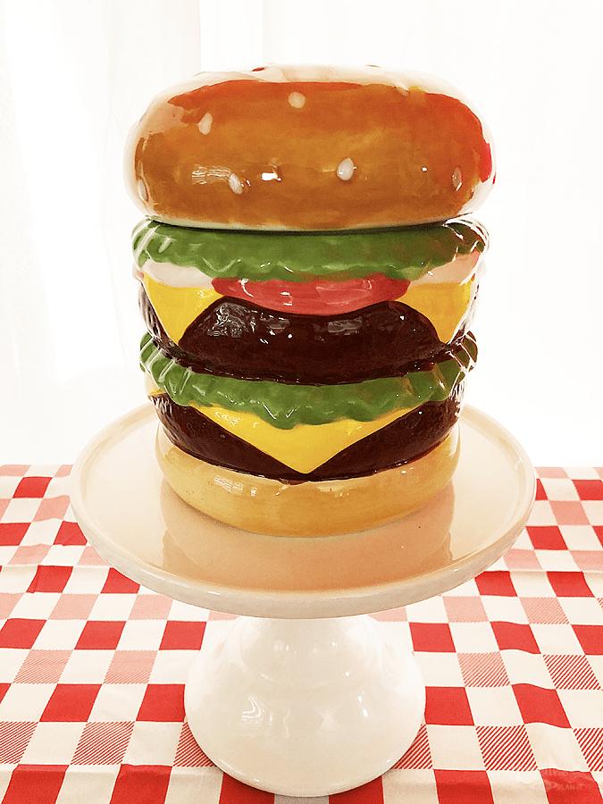 Burger party decor
