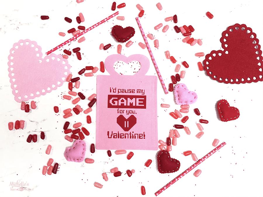 Gamer in love valentine