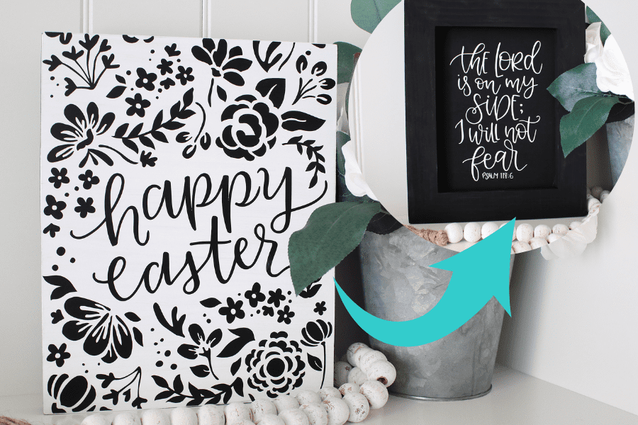 2 in 1 easter sign 1