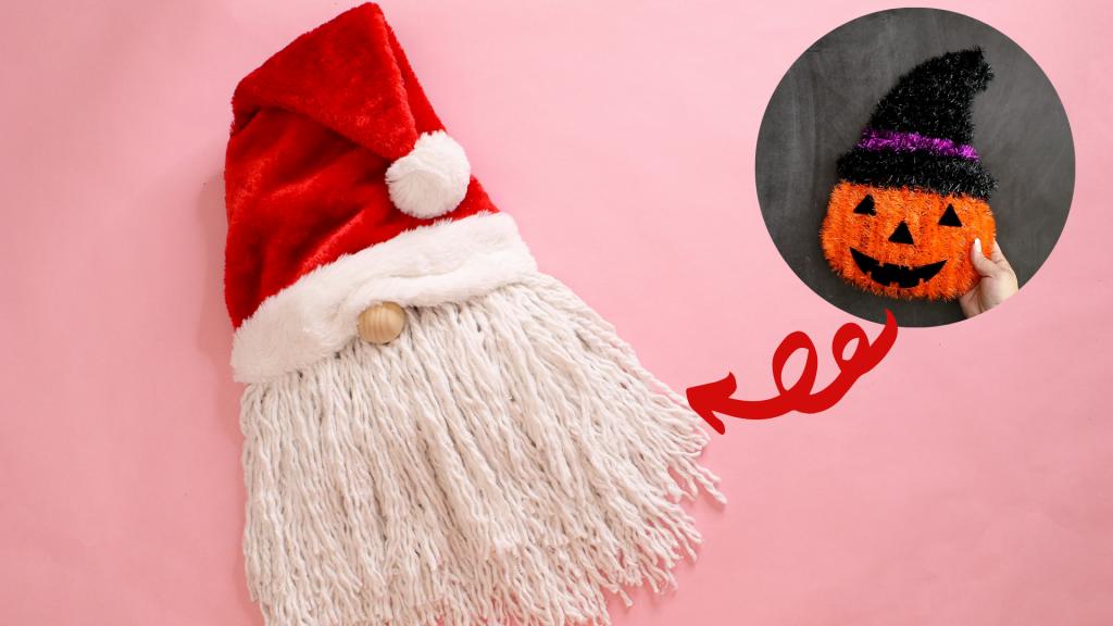 how to make a santa gnome