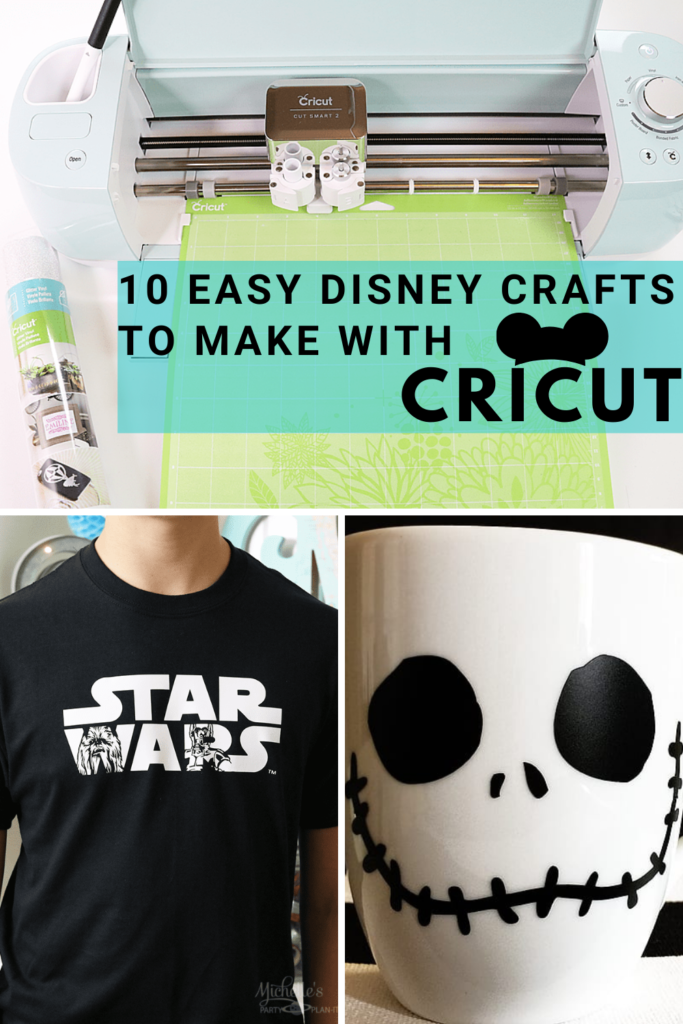 10 easy disney crafts to make with Cricut 2