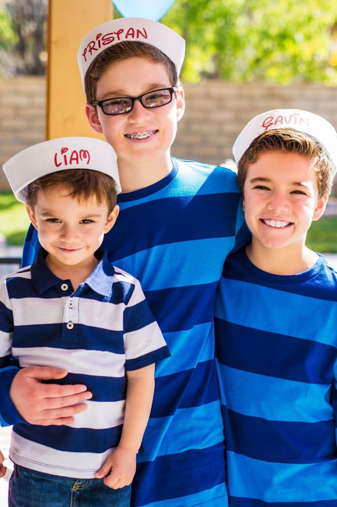 personalized disney inspired sailor hats