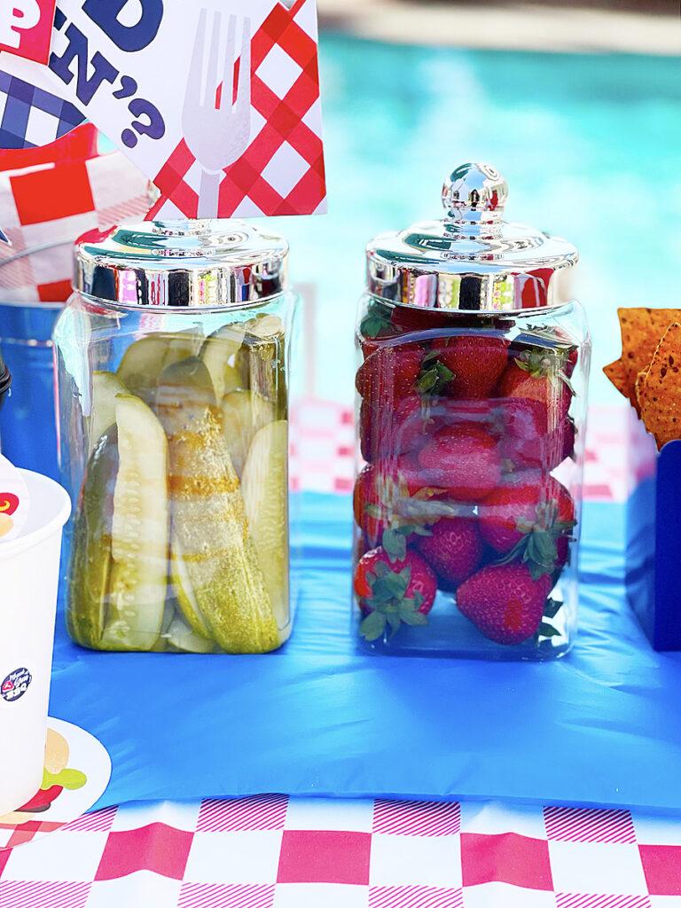 bbq pickles