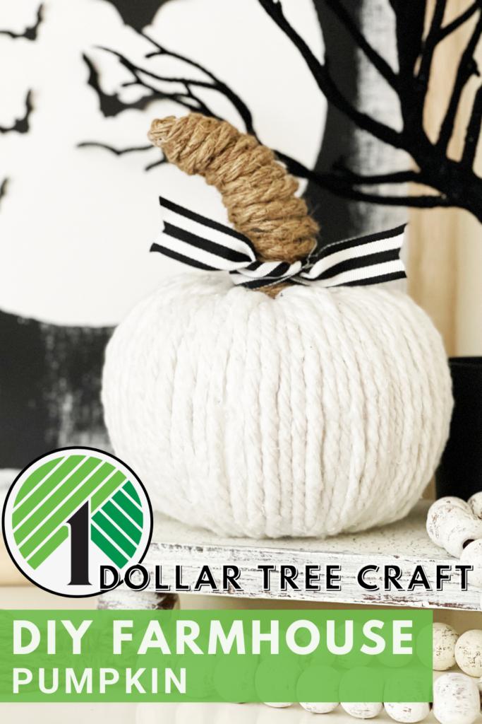 dollar tree diy pumpkins