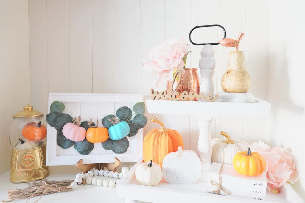 fall pumpkin sign small